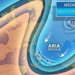 L'irruzione artica punta sull'Italia, in arrivo freddo e neve a bassa quota