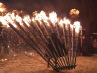 Il più grande rituale del fuoco infiamma la notte di Agnone