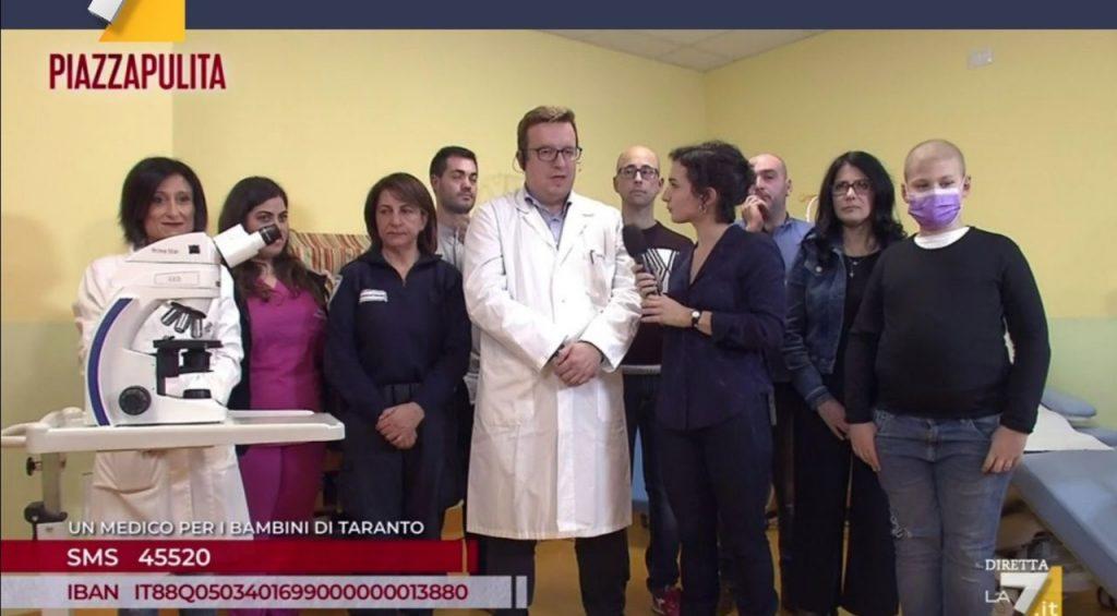 Un medico in più per i bimbi di Taranto malati di cancro: il dovere di dare una mano