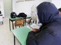 All'Istituto Pilla di Campobasso il freddo fa 'battere i denti', «temperature fino a 13 gradi»