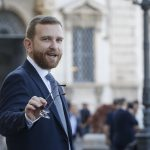 Minister for the South Giuseppe Provenzano arrives at the Quirinal Palace for the new government swearing, in Rome, Italy, 05 September 2019. ANSA/FABIO FRUSTACI