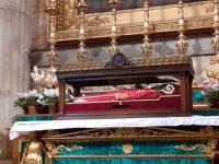 San Timoteo accolto alla Basilica di San Paolo fuori le mure di Roma