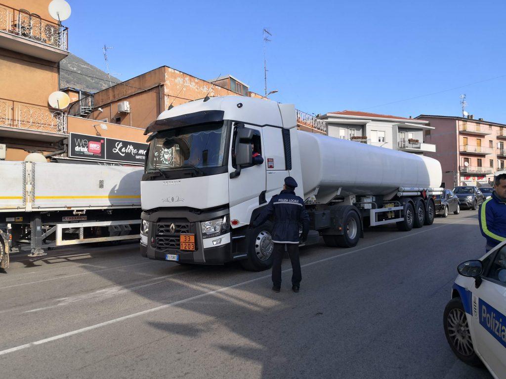 Venafro, Ricci: «Città più vivibile senza mezzi pesanti»