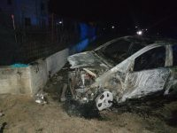 Auto in fiamme a Montenero di Bisaccia, «è intimidazione»