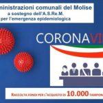 Emergenza Covid, parte la raccolta fondi promossa dai sindaci molisani