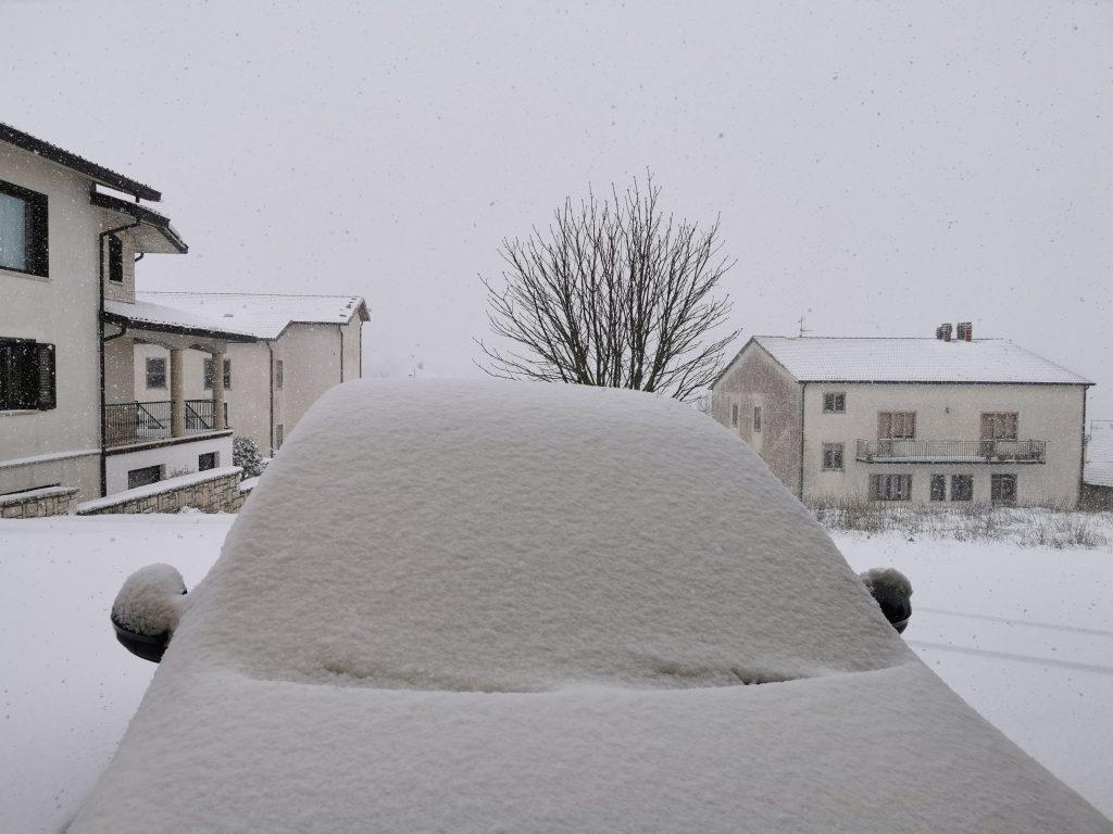 Temperature a picco e neve a bassa quota, Molise nella morsa del freddo fino a domani