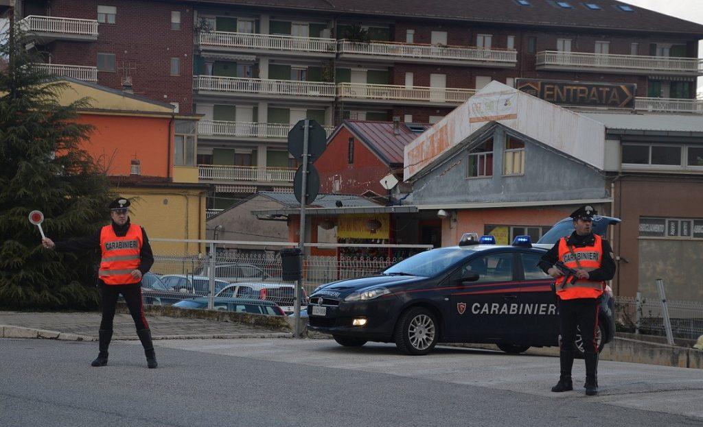 Trasferta a Isernia per 4 ragazzi abruzzesi annoiati: fermati e multati dai Carabinieri