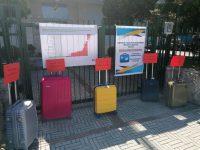 La protesta dei trolley, in Molise il turismo è in ginocchio