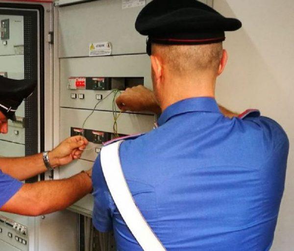 Termoli, rubava energia elettrica al vicino: furbetto del contatore denunciato dai Carabinieri