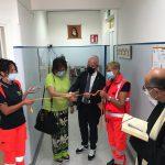 Florenzano inaugura i nuovi locali del 118, ieri il taglio del nastro al Caracciolo