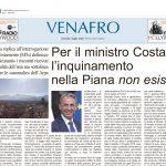 Aldo Patriciello: c'è la garanzia di Costa, ora basta allarmismi