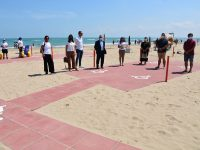 """Progetto Due Mari, a Campomarino la prima """"Spiaggia abile"""""""