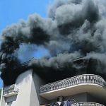 A Venafro appartamento distrutto da un rogo, l'inquilino era uscito da poco: l'innesco da una multipresa