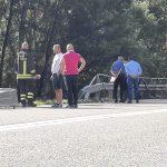 Guardiaregia, Tir precipita in una scarpata e prende fuoco: muore un 42enne