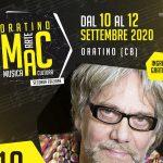 Oratino Mac, ci siamo: on stage Tony Esposito e la musica del mondo