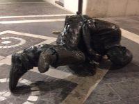 Termoli, statua di Jacovitti divelta: è caccia al gruppo di vandali