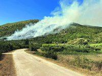 Incendio, dopo 24 ore domate le fiamme su monte Stincone