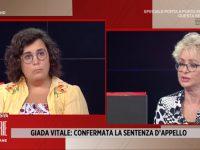 Giada a Storie italiane: «Soddisfatta a metà dalla vicenda penale»