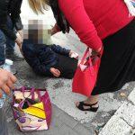 Isernia, marciapiede disastrato: anziana cade e si ferisce