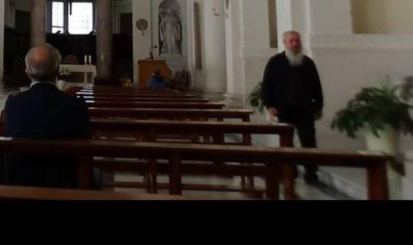 Arrestato a Subiaco don Marino Genova, portato a Rebibbia
