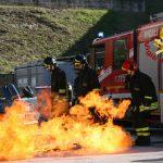 Campobasso, l'abitazione va a fuoco: disabile salvato da due ragazzi