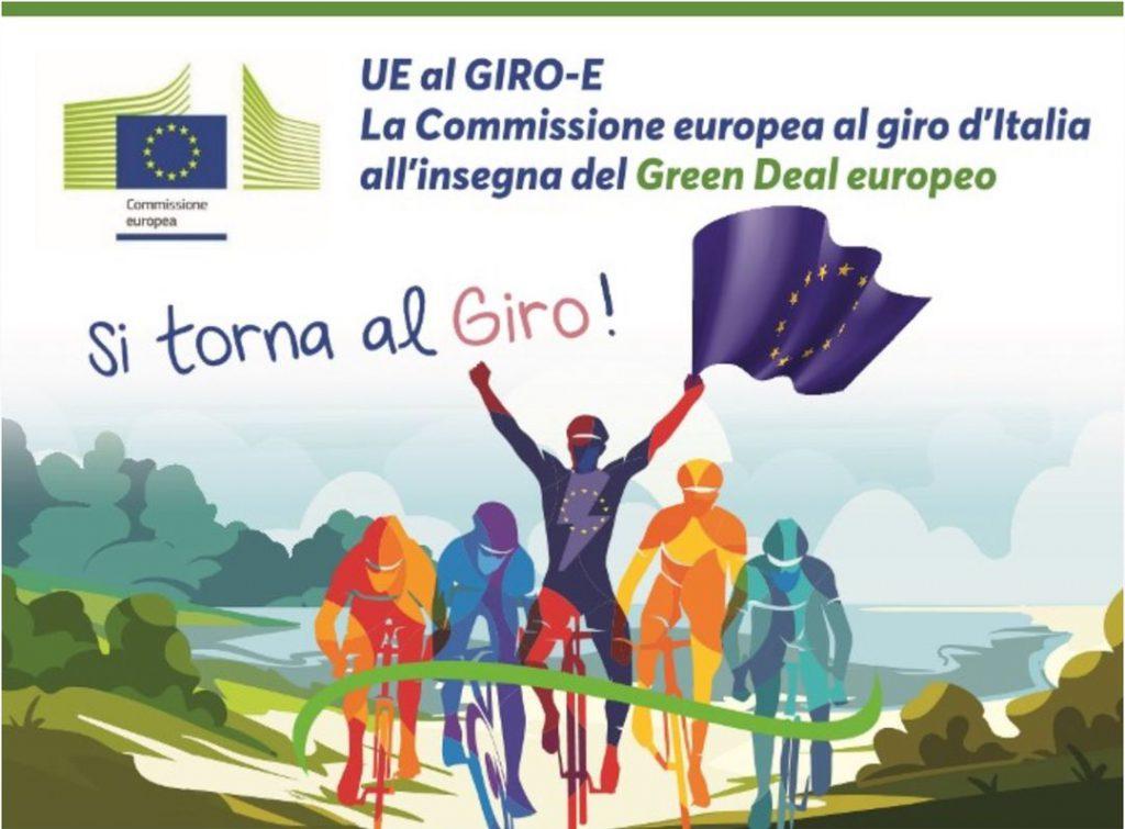 """""""UEalGiro-E"""" – è partita la corsa in bici elettriche ideata e promossa dalla Commissione europea – Rappresentanza in Italia"""