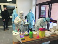 Screening a Sant'Elia, eseguiti 703 test antigenici