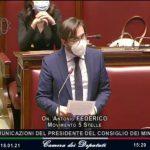 Federico in Aula: stop immotivato, pronti a ripartire con Conte