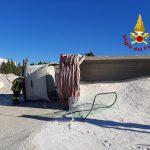 Termoli, si ribalta alla guida del camion: 60enne finisce al Pronto soccorso