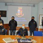 Giovane pusher arrestata in pieno centro a Venafro con 20mila euro di droga