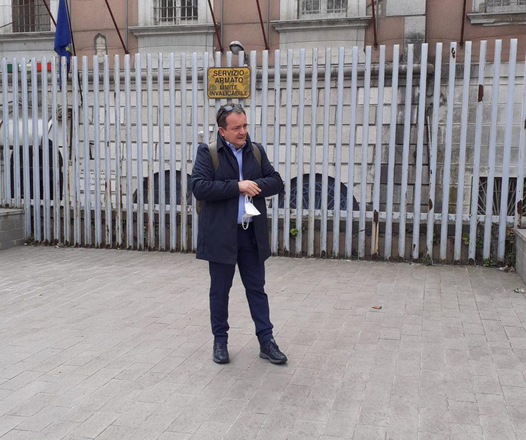 Carceri, Di Giacomo lancia l'allarme: «Nessuno dei detenuti ha ancora ricevuto il vaccino»