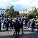 Sit-in e protesta silenziosa in memoria delle vittime, «noi aspettiamo risposte»