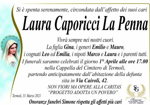 «Onore a Laura», si è spenta a Termoli la vedova dell'onorevole La Penna
