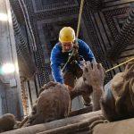 La basilica di Castelpetroso si rifà il look grazie al team di Edilizia Acrobatica