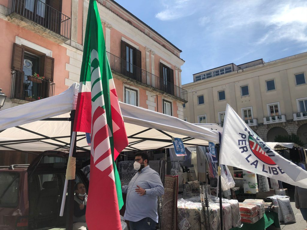"""""""Isernia che vorrei"""", FI in piazza raccoglie le istanze dei cittadini"""