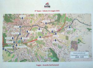 A Campobasso tutto pronto per il Giro d'Italia, il Comune raccomanda il rispetto delle regole