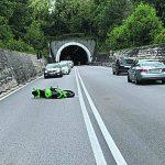 Perde il controllo della moto, miracolato 21enne di Pescolanciano