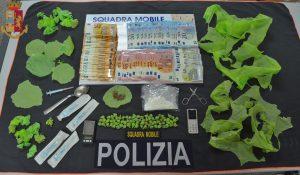 Campobasso, sette arresti e tre denunce in appena 15 giorni: lotta serrata alla droga