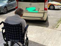 Venafro, nessuno ridisegna le strisce: rampa per disabili parcheggio per le auto