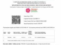 Versione bilingue e Qr code, ecco il passaporto vaccinale