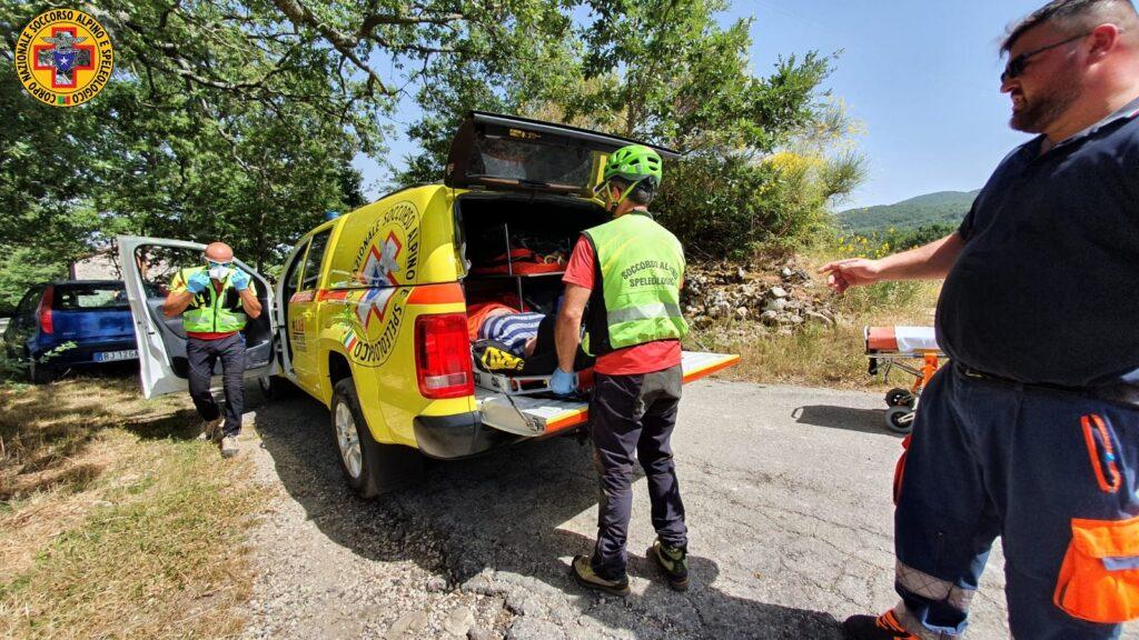 Infortunio nei campi, 36enne di Sepino salvata da Soccorso alpino e 118