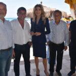 Turismo internazionale, Gabriella Carlucci ieri a Termoli