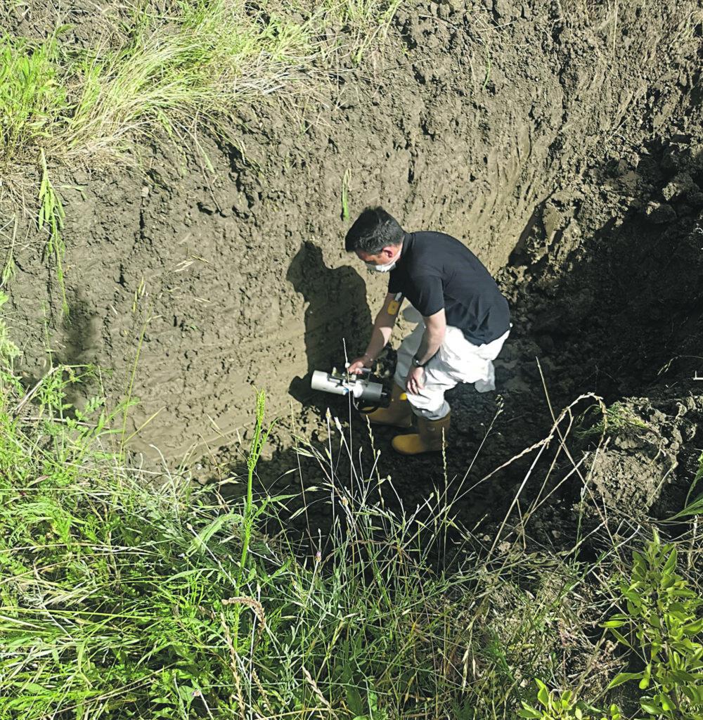 A Castelmauro si torna a scavare, ma nessuna traccia di rifiuti tossici