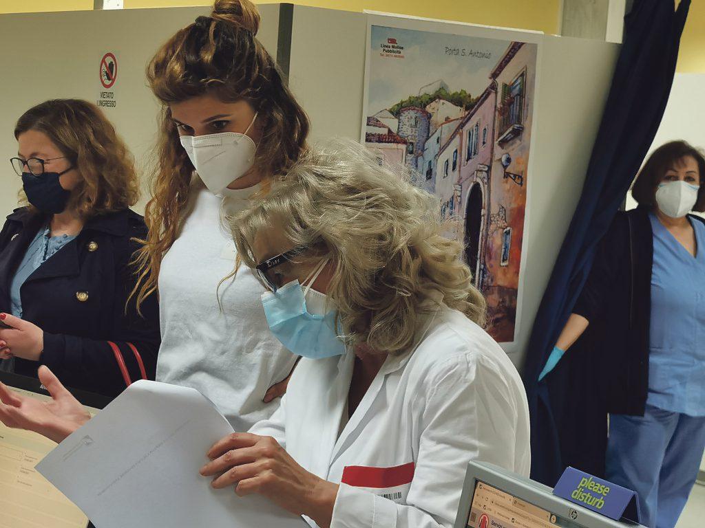 Ospedale quasi libero dal virus: al Cardarelli sono cinque ricoverati