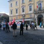 Scuola, sit-in in piazza: «Il Patto è stato disatteso»