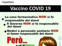 Petrella, il vice sindaco si 'scopre' no vax: «Basta fare le pecore». È polemica