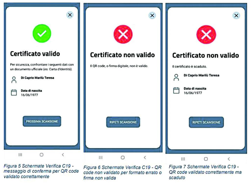 Funziona offline e non registra i dati: l'app che controlla il pass