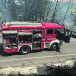 """Giornata di """"fuoco"""" nella Valle, grossi incendi a Ceppagna e Monteroduni"""