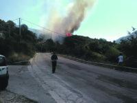 Longano, il fuoco divora altri venti ettari di bosco