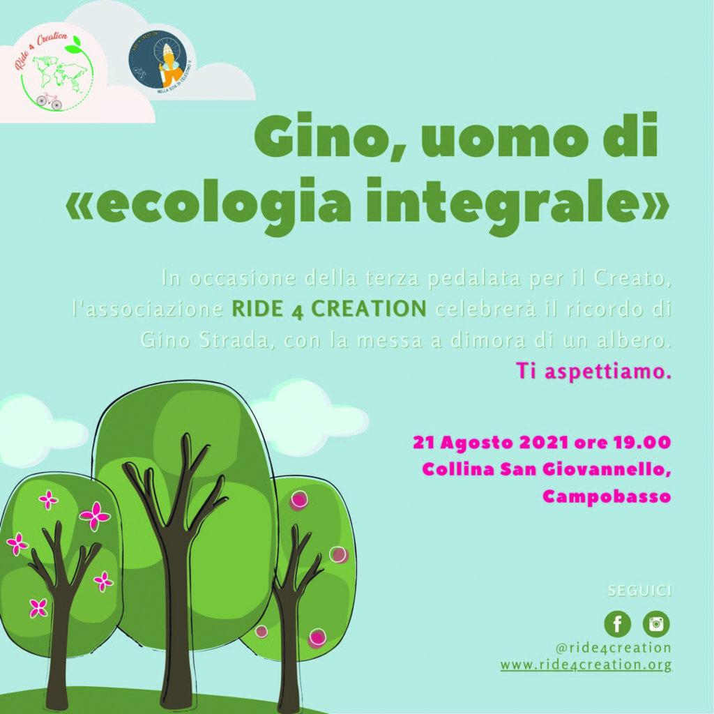 A Campobasso un albero in memoria di Gino Strada: oggi l'iniziativa di Ride 4 Creation